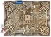 """Labyrinth-Tischset """"Das Spukschloss"""""""