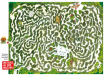 """Labyrinth-Tischset """"Amateure auf dem Amazonas"""""""