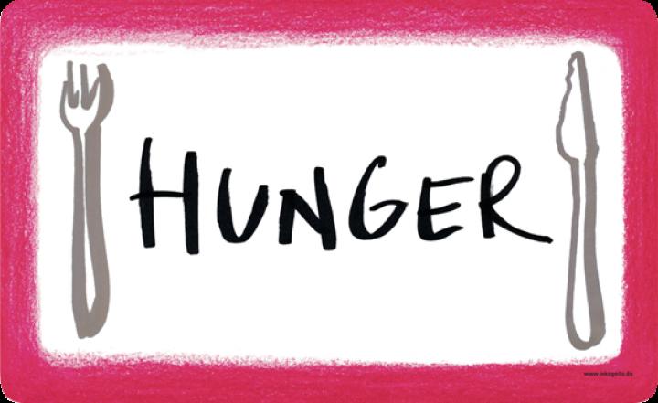 hunger bild lustig