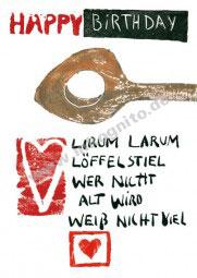 KD Geburtstag – Lirum Larum