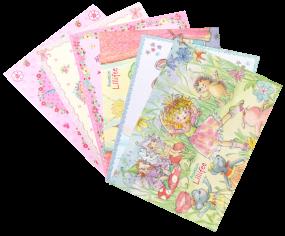 Postkarten-Set Prinzessin Lillifee 1