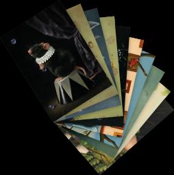"""Postkarten-Set """"Tiere"""" – S. Visser"""