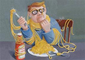 Spaghetti für Anfänger