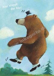Hier steppt der Bär