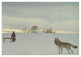 """Poster """"Wolf & Mann"""""""