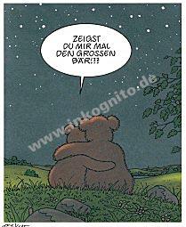 """Poster """"Großer Bär"""""""