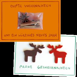 Klappkartenset mit Minigeschenk – Weihnachten 5