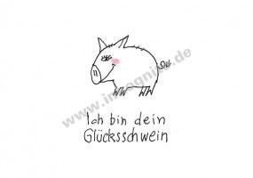 KD Ich bin dein Glücksschwein