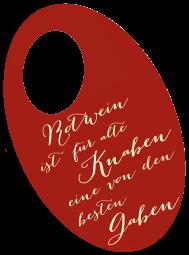 """Flaschenpost """"Für alte Knaben"""""""