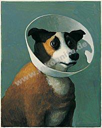 """Poster """"Kranker Hund"""""""