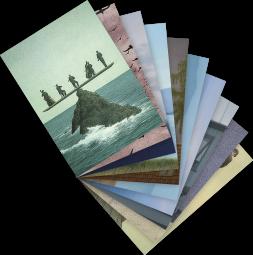 Postkarten-Set Quint Buchholz 1
