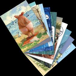 "Postkarten-Set ""Urlaub"""