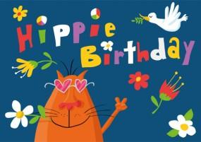 KD Hippie Birthday