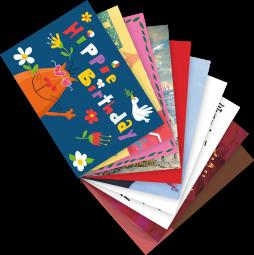 Postkarten-Set Geburtstag