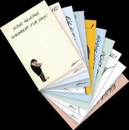"""Postkarten-Set von Loriot """"Grüße"""""""