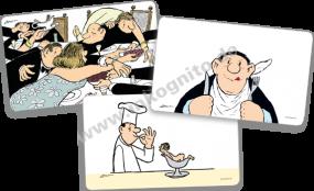 Frühstücksbrettchen-Paket Loriot