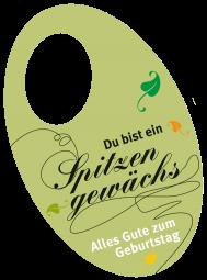 """Flaschenpost """"Spitzengewächs"""""""