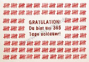 365 Tage schlauer