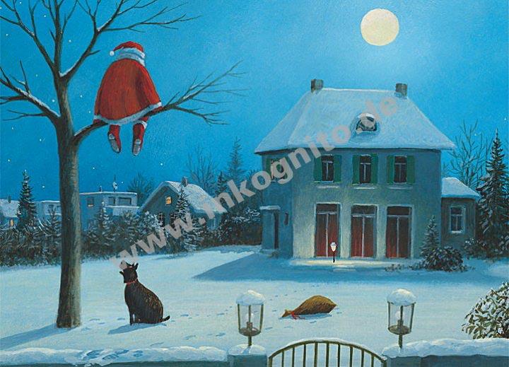 stille nacht weihnachten zu anl ssen postkarten. Black Bedroom Furniture Sets. Home Design Ideas