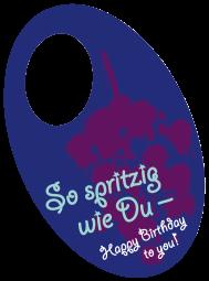 "Flaschenpost ""Spritzig"""
