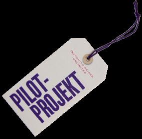 """Kofferanhänger """"Pilot-Projekt"""""""