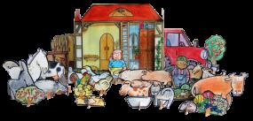 Bauernhofbausatz 1-2-fertig