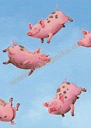 Glücksschweine