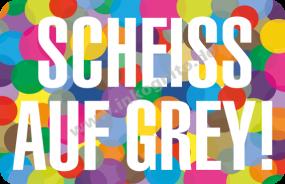 MA Scheiß auf grey