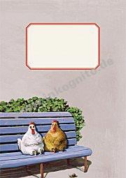 """Heftchen """"Hühner"""""""