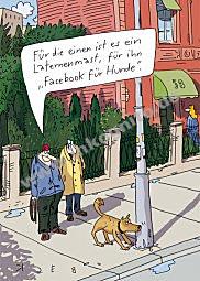 Facebook für Hunde