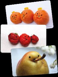 Frühstücksbrettchen-Paket Obst