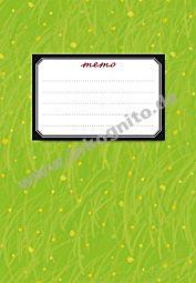 Bastelmemo Green Grass