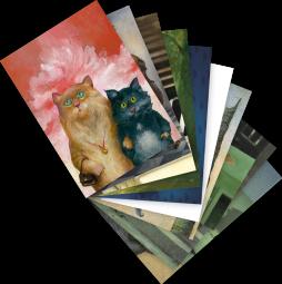 """Postkarten-Set """"Katzen 1"""""""