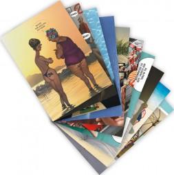 "Postkarten-Set ""Urlaub 1"""