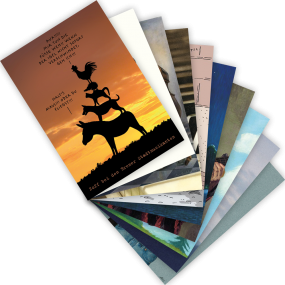 "Postkarten-Set ""Musik"""