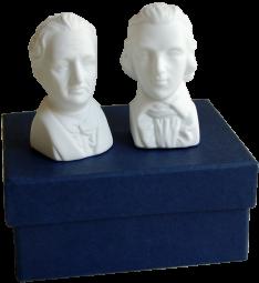 Salz- und Pfefferstreuer Schiller & Goethe
