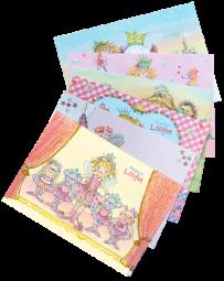 Postkarten-Set Prinzessin Lillifee 2