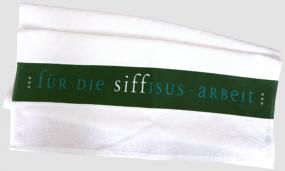 """Geschirrtuch """"Siffisus-Arbeit"""""""