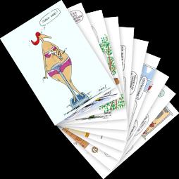 Postkarten-Set Birte Strohmayer