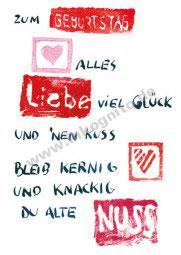 KD Geburtstag - Alte Nuss