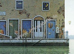 """Poster """"Venedig, Ponte I."""""""