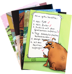 Postkarten-Set Veggie