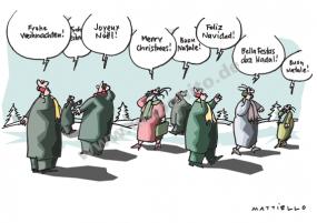 Weihnachtssprachen