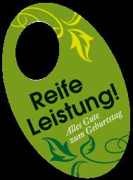 "Flaschenpost ""Reife Leistung"""
