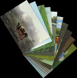 Postkarten-Set Michael Sowa