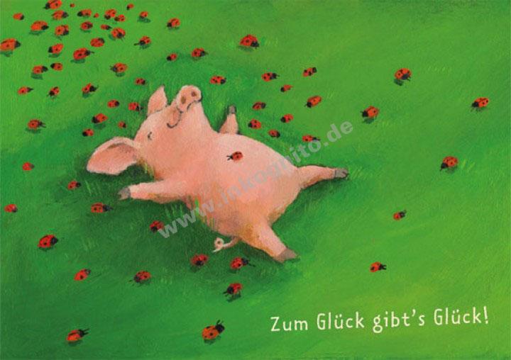 Zum Glück Gibts Glück Liebe Romantik Nach Themen Postkarten