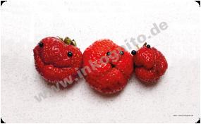 Frühstücksbrettchen Erdbeere