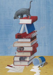 KD Bücherkatze