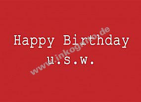 KD Happy birthday usw.